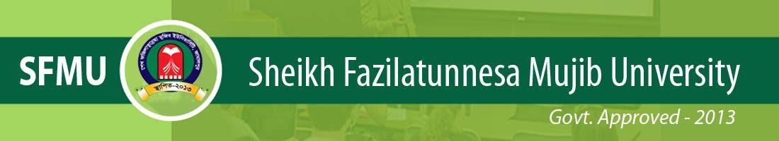 Sheikh Fazilatunnesa Mujib University